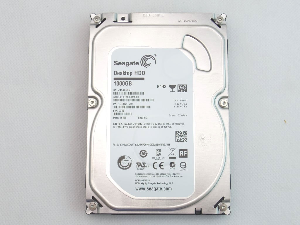 Seagate Barracuda 1tb 35 Internal Desktop Hard Drive 7200 Rpm Baracuda Sata St1000dm003 Discounted Retail Products Coupons