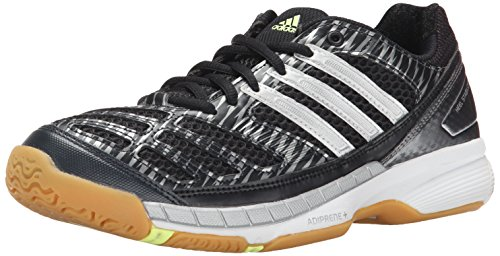 Textile/ Synthetic Imported Rubber sole Open mesh upper for breathability TPU grid in shank for 360-degree air flow ADIPRENE+ in the forefoot maintains propulsion and efficiency Full-length ADIPRENE for comfort and superior cushioning at impact Non-marking rubber outsole - 1