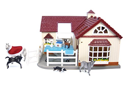 contents undamaged. Stablemates are 1:32 scale. The quality and attention to detail you expect from Breyer