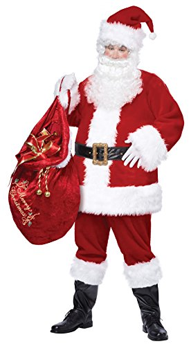 100% Polyester Imported Dry Clean Only Coat and pants Hat Beard and wig Boot covers Belt and gloves - 1