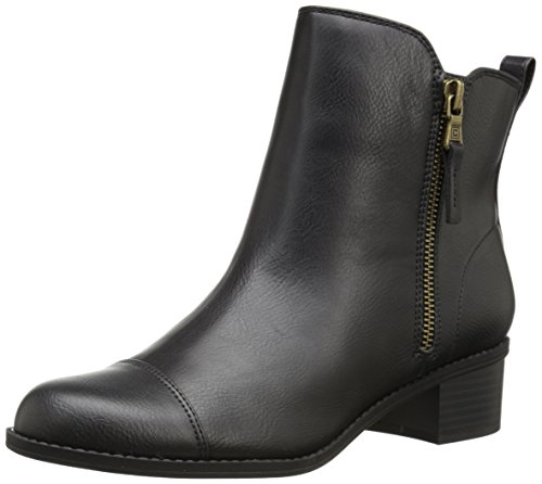 "Size - Women's - 8.5 B US Manmade Imported Rubber sole Shaft measures approximately 6"" from arch Heel measures approximately 1.5"" Platform measures approximately 0.25 inches Boot opening measures approximately 10.25"" around Chaps - 1"