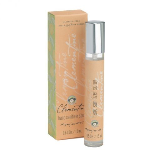 Clementine Hand Sanitizer Spray A refreshing clean blend with soft