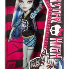 The Ghouls of Monster High are showing their school spirit Frankie Stein doll is showing her monster spirit with a giant sports hand Decked out in schoolgirl plaid and the Monster High logo Doll is fully articulated so they can be posed in many different ways Includes doll and spirit-themed outfit - 1