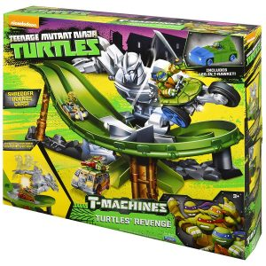 Teenage Mutant Ninja Turtles T-Machines Turtle's Revenge Playset Utilizing Kraang Power Cell technology
