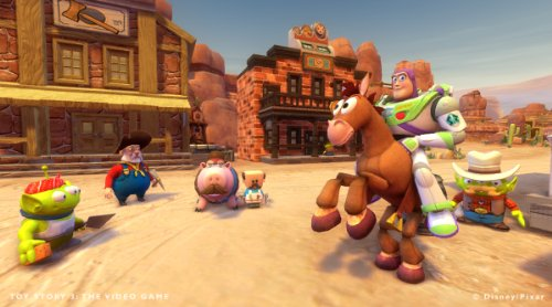 ride and fly through scenes from Toy Story 3! Play as Woody