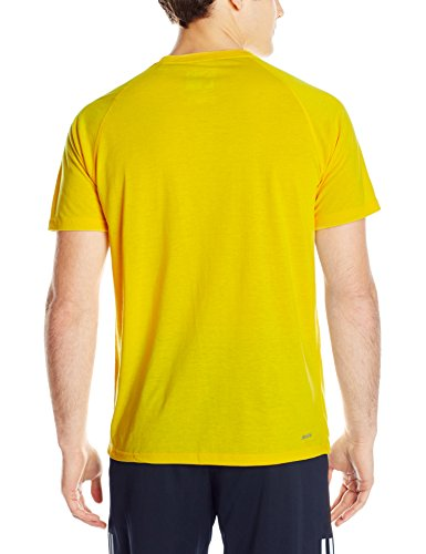Size - Men's - X-Large Fabric Imported Breathable training shirt featuring raglan-seamed short sleeves and logo at left chest Crew neckline - 2