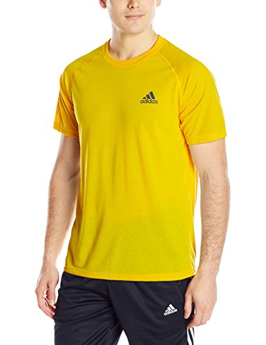 Size - Men's - X-Large Fabric Imported Breathable training shirt featuring raglan-seamed short sleeves and logo at left chest Crew neckline - 1