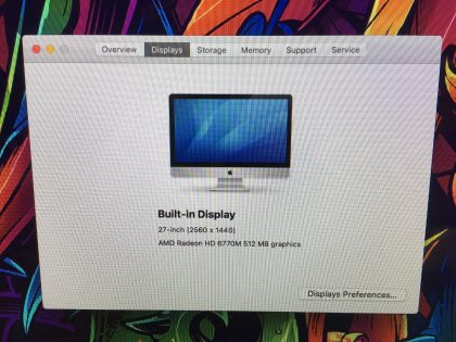 glass still sits flush with aluminum (View images 10-11). This does NOT effect the performance of the iMac. This system has been professionally tested and is in fully functional condition. For your help