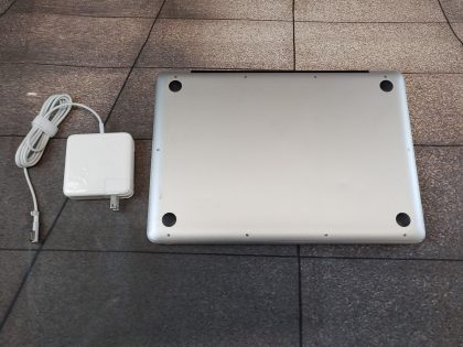 we have added actual images to this listing of the Apple Macbook you would receive. System has a clean install of El Capitan(Version 10.11) operating system. System features the latest operating system supported by the system. May have some minor scratches/dents/scuffs. OSX Default Password: 123456. [ What is included: Apple Macbook + Power Cord + 30-Day Warranty Included ]Item Specifics: MPN : MB990LL/AUPC : NABrand : AppleProduct Family : Macbook ProRelease Year : Mid 2009Screen Size : 13 inProcessor Type : Intel Core 2 DuoProcessor Speed : 2.26 GhzMemory : 4 GBStorage : 128 GBOperating System : Mac OS X 10.11