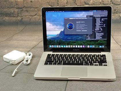 we have added actual images to this listing of the Apple Macbook you would receive. System has a clean install of Catalina(Version 10.15) operating system. System features the latest operating system supported by the system. May have some minor scratches/dents/scuffs. OSX Default Password: 123456. [ What is included: Apple Macbook + Power Cord + 30-Day Warranty Included ]Item Specifics: MPN : MD101LL/AUPC : NABrand : AppleProduct Family : Macbook ProRelease Year : Mid 2012Screen Size : 13 inProcessor Type : Intel Core i5Processor Speed : 2.5 GhzMemory : 8 GBStorage : 512 GBOperating System : Mac OS X 10.15
