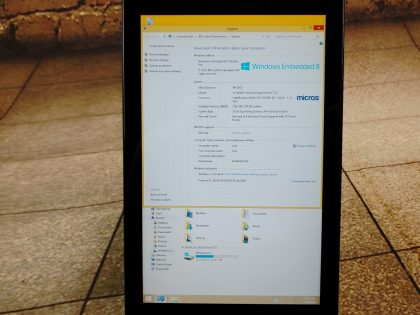 requires a micro-usb cable to charge but can be easily obtained. You would receive exactly as pictured. Item Specifics: MPN : Dell Venue 8 ProUPC : NABrand : DellType : TabletProduct Line : Venue 8 ProOperating System : Windows Embedded 8.1Screen Size : 8 inStorage Capacity : 32 GBColor : BlackProcessor : Intel Atom Z3745DProcessor Speed : 1.33 GhzRAM : 2 GBInternet Connectivity : WiFi - 4
