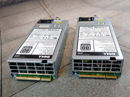 Tested and pulled from a working system. You would receive exactly as pictured. Item Specifics: MPN : 0D5MW8 f750E-S0UPC : NABrand : DellModel : 80 Plus PlatinumMax. Output Power : 750W - 5